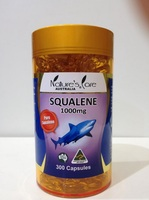 Nature's Care Squalene 1000mg 300 capsules (health supplement)