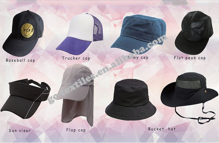 China supplier 100% cotton 6 panel OEM custom logo baseball and hat