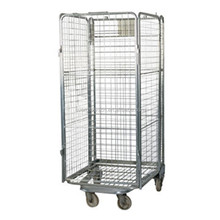 Wire mesh grid Security A Frame foldable metal/steel cage