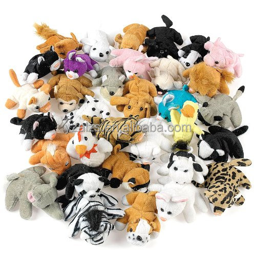 Plush Mini Bean Bag Animal Assortment Toy