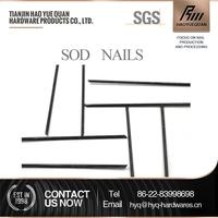 Professional hot sale!!!metal u pins for artificial grass u type brad nail