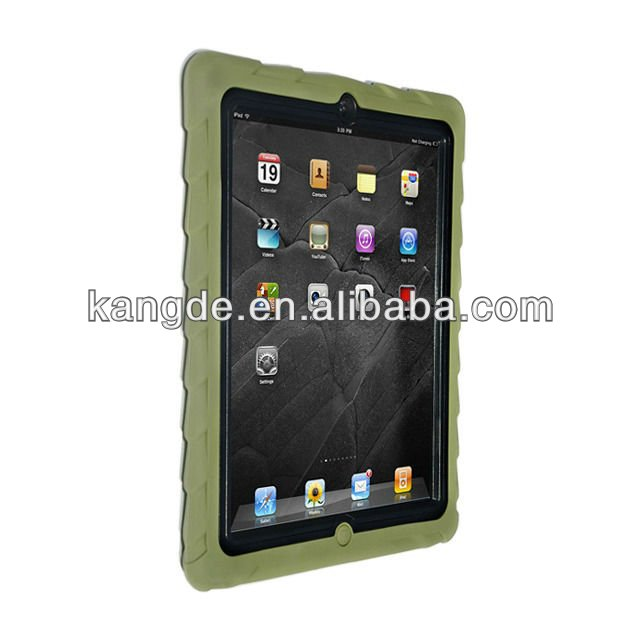 Silicone Military Edition Case for Apple iPad 2/IPAD 3