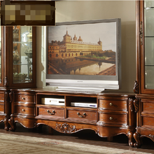European design antique luxury lcd tv stand design