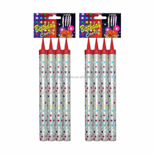 15cm birthday candles chinese fireworks with good quality for wholesale from liuyang