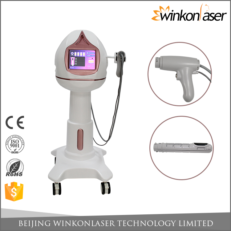 2017 Newest beauty equipment OEM ODM approved protect firming hifu vagina tighten rod machine