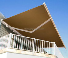 Modern Design Remote Control Electric Outdoor retractable aluminum awnings/Retractable Sunshade awning price