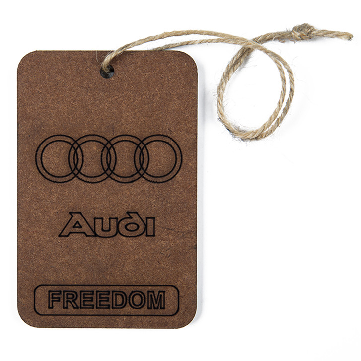 Customized Shape High Quality Paper Car Auto Air Freshener