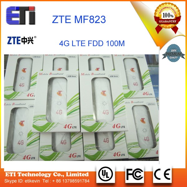 High Quality Original USB 2.0 High Speed ZTE MF823 Lte 4G Usb Modem