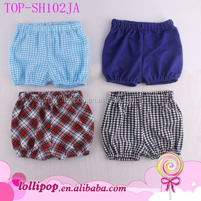 Newest Western Style Summer Kids Bubble Shorts Elastic Fashion Beach Wear Seersucker Shorts Wholesale Boys