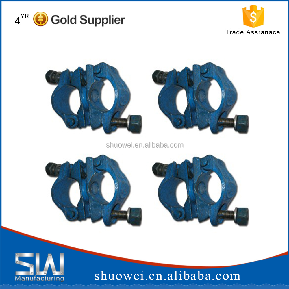 Scaffolding sleeve coupler/scaffolding clamps EN74/scaffolding swivel clamp for sale hot dipped galvanized