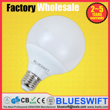 10w G95 led white e16 light bulb lamp 24vdc