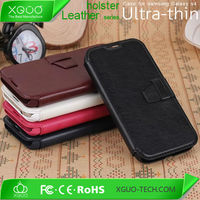 PU leather back cover for samsung galaxy s4