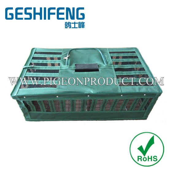 2014 hot sell Foldable CanvasPoultry & bird Transport Cages,pigeon cage