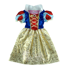 2016 walson Hot sale child Fair Tale Girls Children Cosplay Costume snow white Princess party dress kid costume