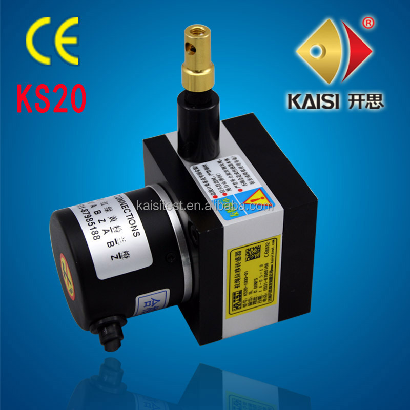 KS20-1000-<strong>01</strong>-L Universal Tester Machine Wire Displacement Transducer, Digital Displacement Transducer