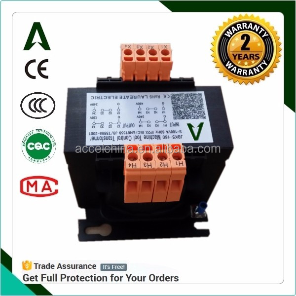 200w ac 220v to 110v step down voltage transformer