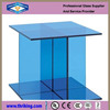 4mm blue float glass sheet, tinted glass, stained glass