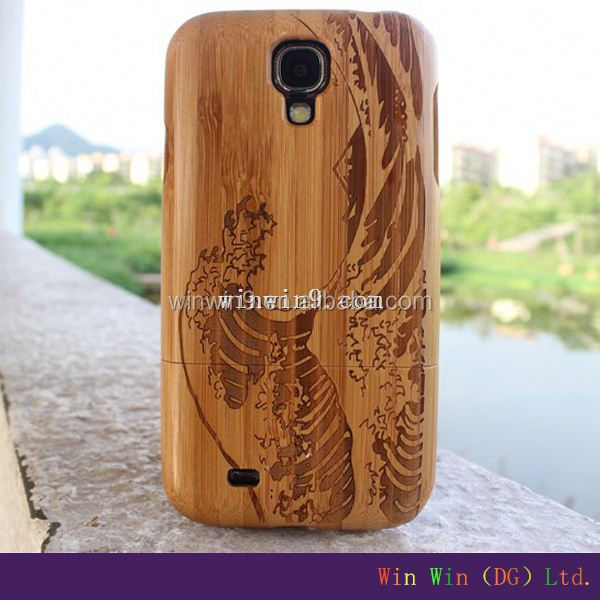 2014 fancy wood + PC cell phone cases for Iphone5