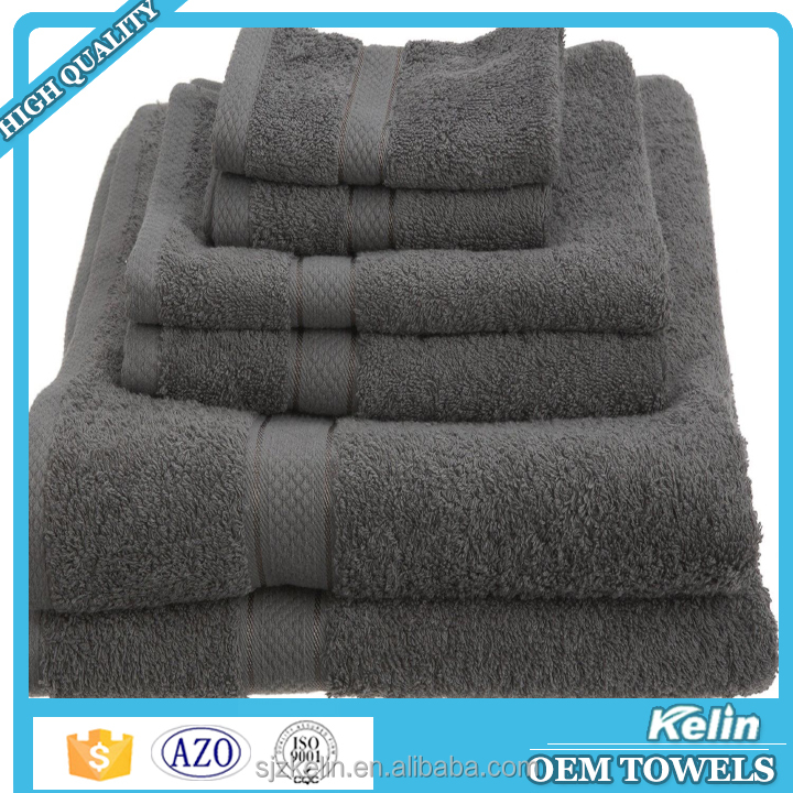 Hot selling dobby 100 percent egyptian 700 gsm bath towels