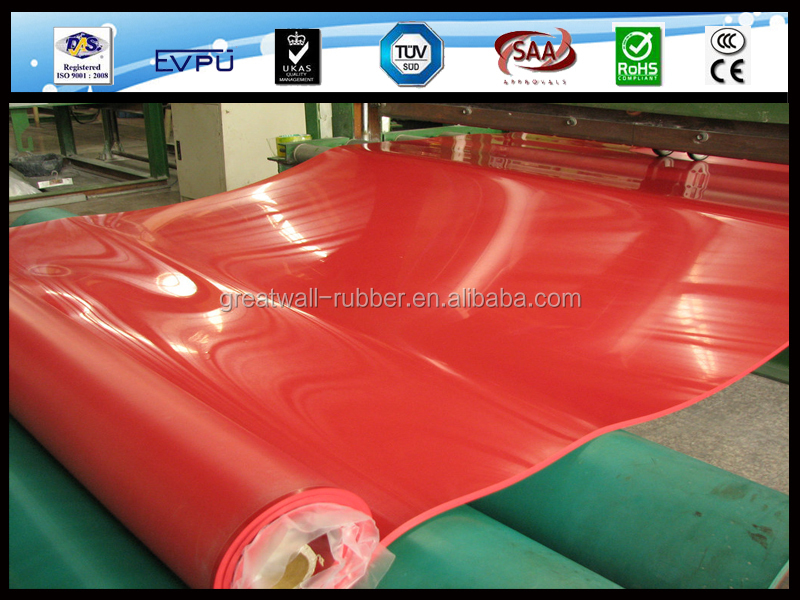 China Factory Direct Sale Great Wall Natural Rubber Sheet For Special Rubber