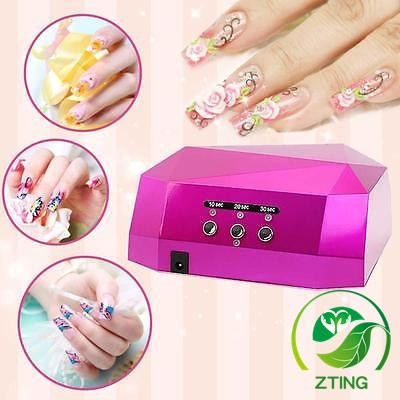 2016 best <strong>price</strong> Professional powerful 36w gel uv led nail lamp flower red color led uv ccfl lamps