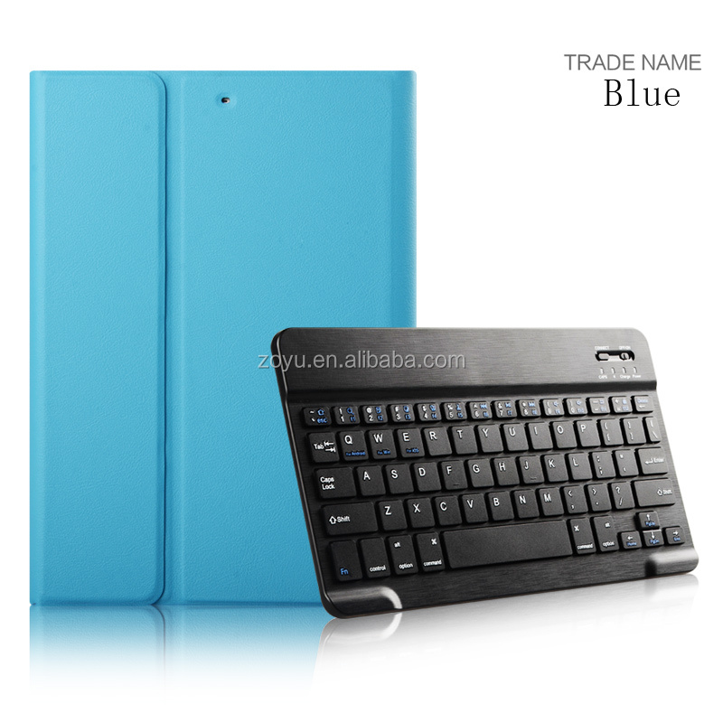 Whole Sale Price Leather Keyboard Case For iPad Air 2 Stylish Slim Keyboard Leathebluetooth keyboard for ipad air case