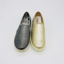 Factory wholesale ladies shoes, sexy flat slip-on casual shoes for woman