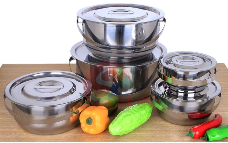 Good Quality Competitive Price Practice Suit of Stainless Steel Food Box Food Container stock pot