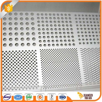 High quality perforated aluminum sheet price m2