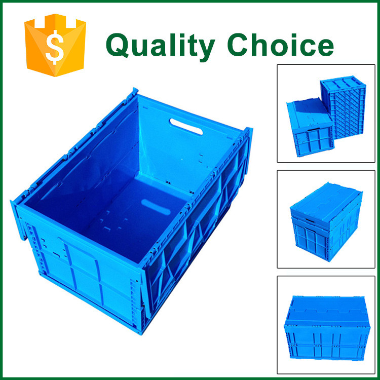 New Design Foldable Large Plastic Moving Crate Sale