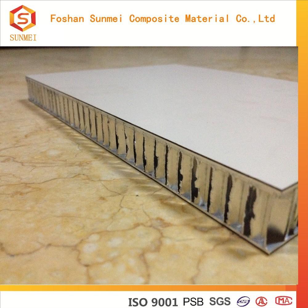 Panel s ndwich de nido de abeja de aluminio respetuoso del for Panel sandwich aluminio