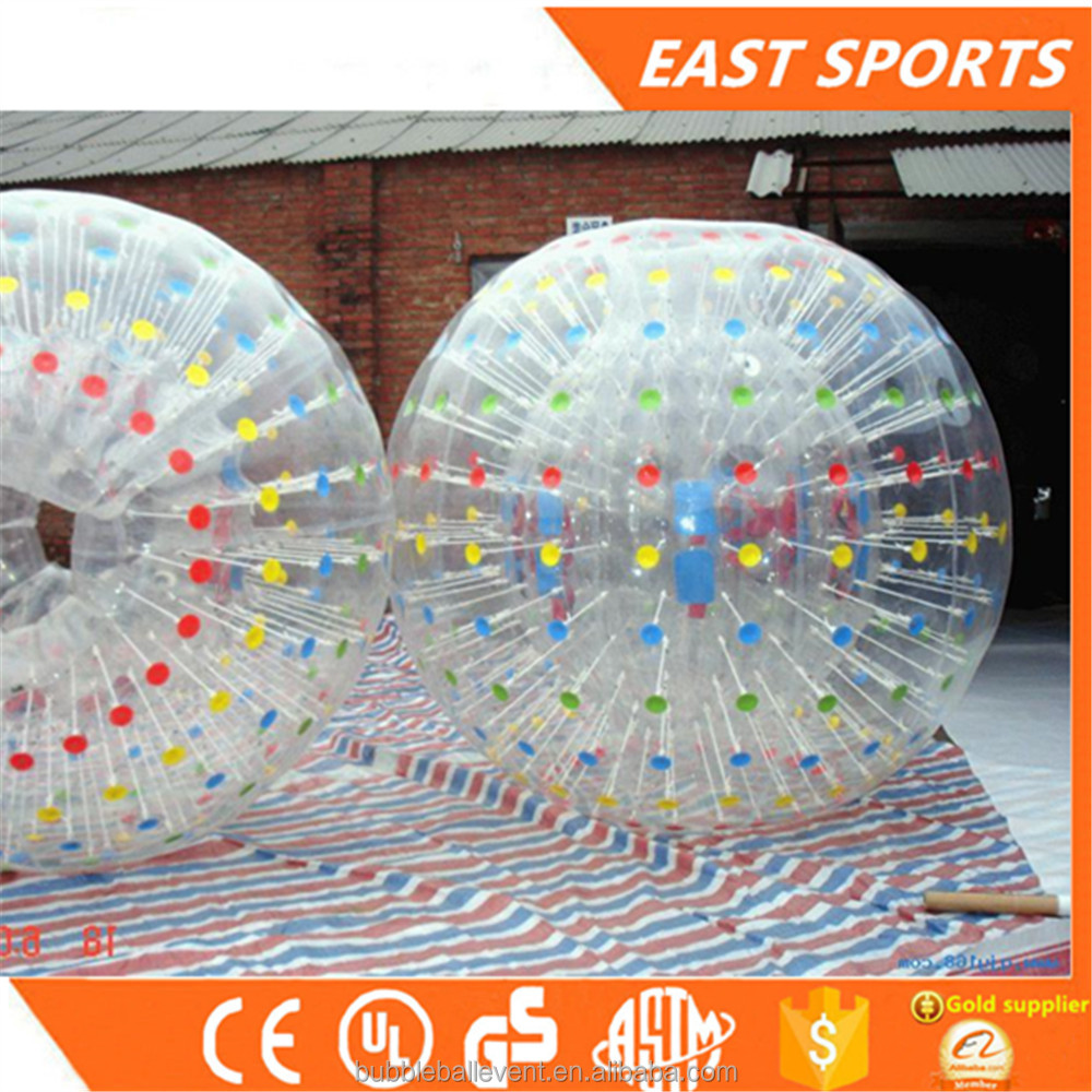 PVC/TPU football inflatable body zorb ball/ soccer bubble human bubble balls,kid size hamster ball for sale