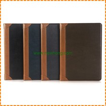 Book Style Leather Case for iPad Air 2 ,Card Slot Leather Case for iPad Air 2