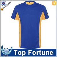 Hot Sales economic unisex pocket blank cut and sew t-shirt