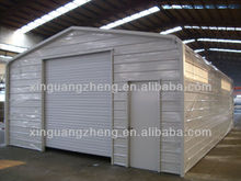 Steel structure prefabricated car shed for sale