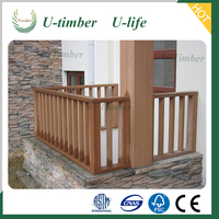 Top-selling Weathering resistance wpc balcony railing designs