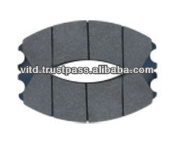 heavy duty vehicle brake pad