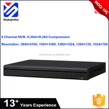 Best quality 8 channel 200Mbps poe h.265 8ch nvr