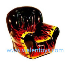 Hot Fashionable pvc inflatable sofa chair for promotions and advertising