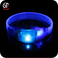 Wholesale Colorful LED Bracelet For Any Knds Of Festivals,Party,Nightclub With EL Design