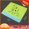 RENJIA pet accessories silicone dog feeding mat silicone cooling mat