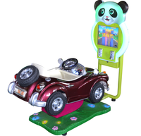 NEW ARRIVAL!!! 2015 2D Bear Milord Karting Car operated indoor kiddie game machine pass CE
