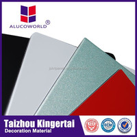 Alucoworld acm excellent building material plastic corrugated honeycomb cardboard sheet aluminum composite panel cedar panelling