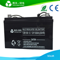Factory Direct Deep Cycle Gel Battery 12v 100ah, China Best Sealed Lead Acid Solar Battery