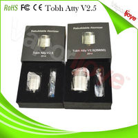 Best selling mods atomizer no leak tobh atty atomizer tobh atty v2.5