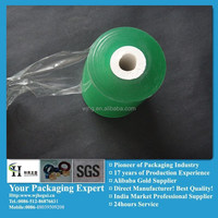 PVC High Stretch High Sticky Film Green For Packaging Cables