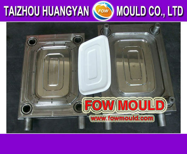 food grade plastic thin wall storage container injection mould supplier