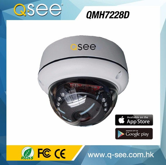 Alibaba Export Golden Supplier High-tech 720P 15 PCS IR LED White Dome 15m IR Distance AHD CCTV Camera System
