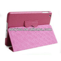 Hello Kitty Cute Leather Smart Case for Ipad Mini