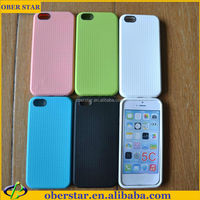 Hot selling celular Official honeycomb Hybrid polka dot TPU silicon soft case cover For iPhone 5c